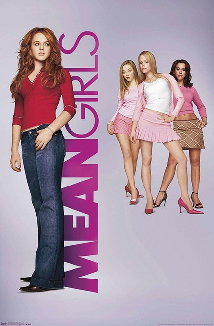 """Mean Girls Poster - 22.375""""' x 34""""' Image"""
