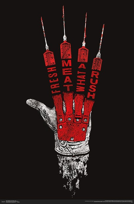"A Nightmare on Elm Street - Hand Poster - 22.375""' x 34""' Image"