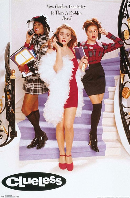 """Clueless Poster - 22.375""""' x 34""""' Image"""