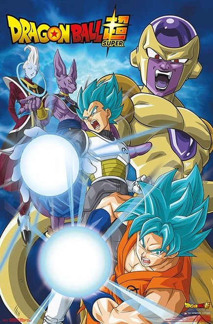 "Dragon Ball Super - Return Poster - 22.375""' x 34""' Image"