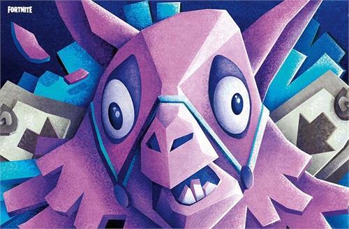 """Fortnite - Llama Poster - 22.375""""' x 34""""' Image"""