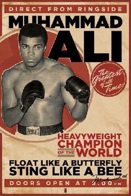 "Muhammad Ali Poster 24"" x 36"" Image"