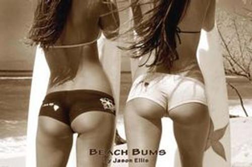 "Beach Bums Poster 24"" x 36"" Image"