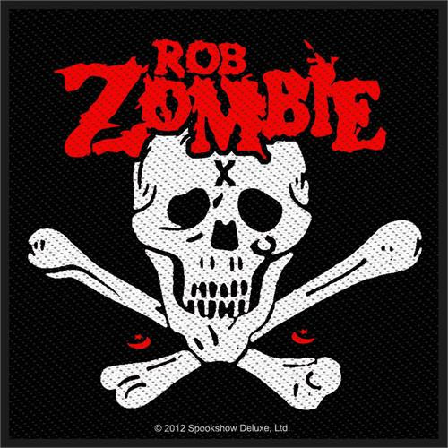 """Rob Zombie Dead Return - Woven Sew On Patch 4"""" x 3.75"""" Image"""