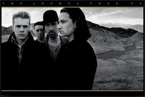 "U2 - Joshua Tree Poster 24"" x 36"" Image"
