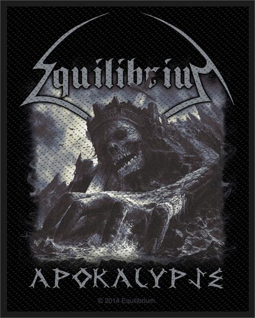 """Equilibrium Apokalypse - Woven Sew On Patch 3"""" x 4"""" Image"""