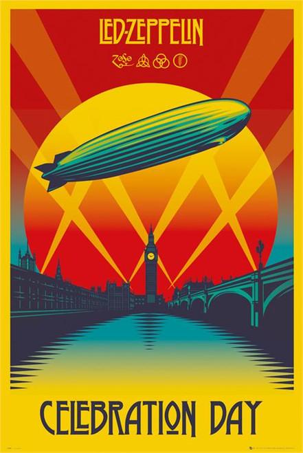 "Led Zeppelin - Celebration Day Poster 24"" x 36"" Image"