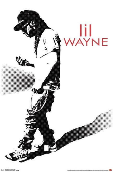 "Lil Wayne Hustle Poster - 22.375"" X 34"" Image"