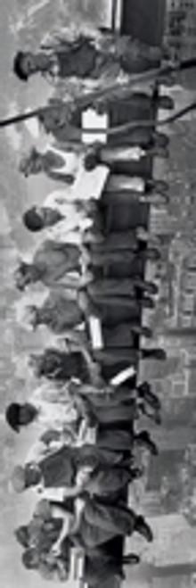 """Men On Beam - Lunch On A Skyscraper Door Poster - 21"""" X 62"""" Vertical Image"""