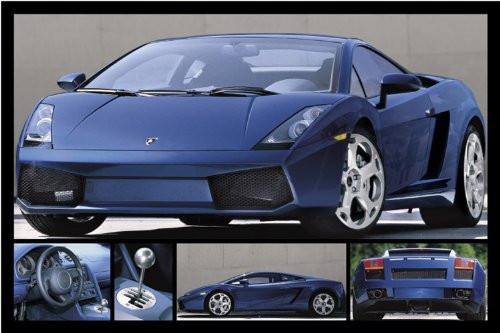 "Lamborghini Gallardo Poster 36"" x 24"""