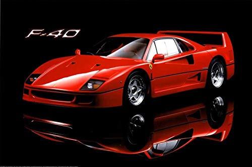 """Ferrari F40 Sports Car Poster 36"""" x 24"""""""