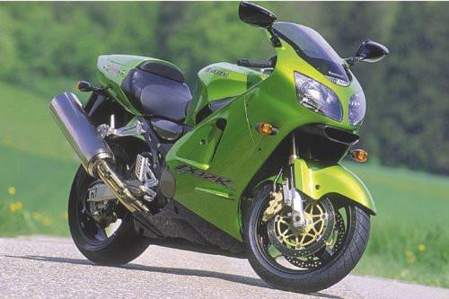 """Kawasaki Green Power Motorcycle Poster 36"""" x 24"""""""
