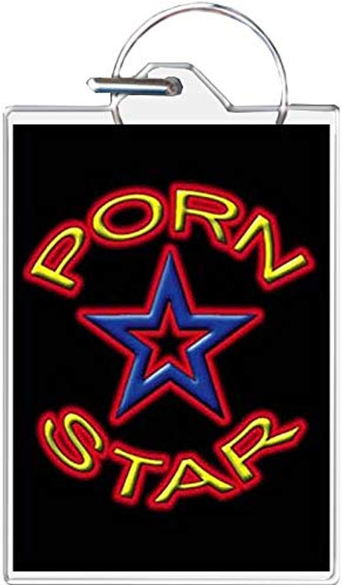 Porn Star Keychain