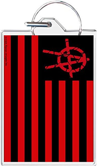 Anarchy Flag Keychain