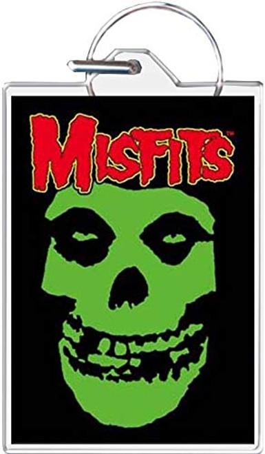 Misfits Classic Fiend Skull Keychain