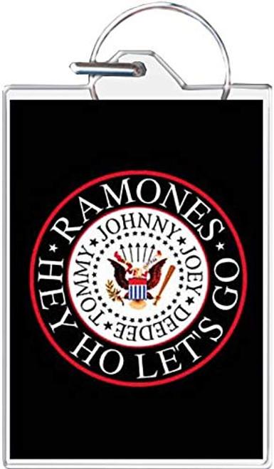 Ramones Eagle Logo Keychain
