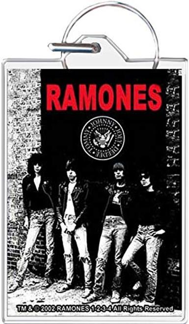 Ramones Rocket to Russia Keychain