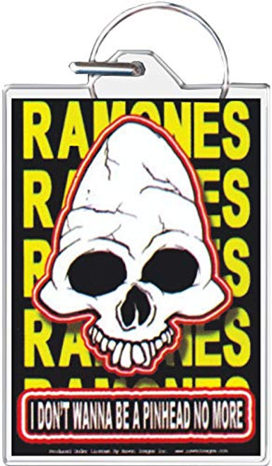 Ramones - I Don't Wanna Be A Pinhead Keychain