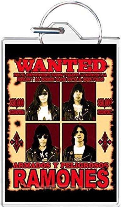 Ramones - Wanted Keychain