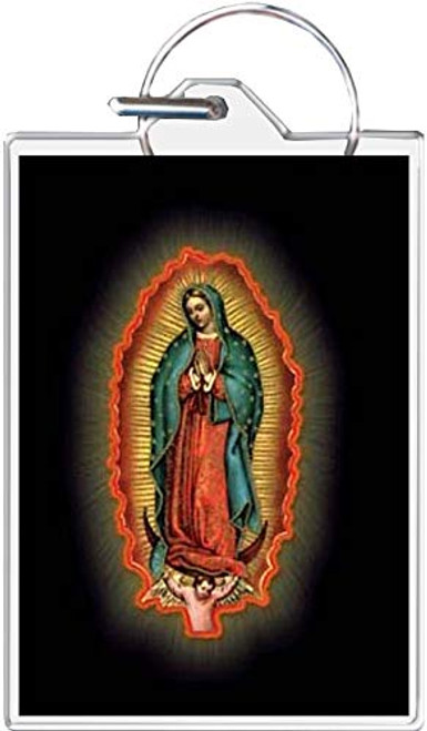 Madonna of Guadalupe Keychain