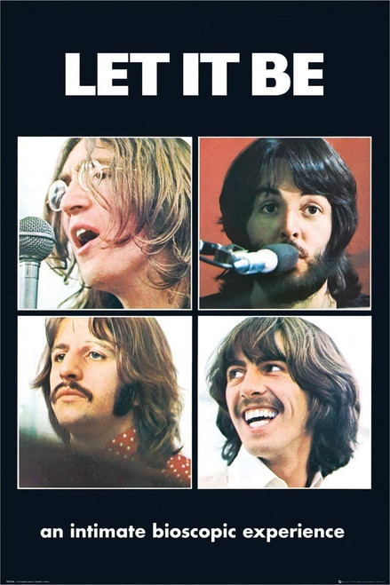 The Beatles Let It Be Music Poster Image