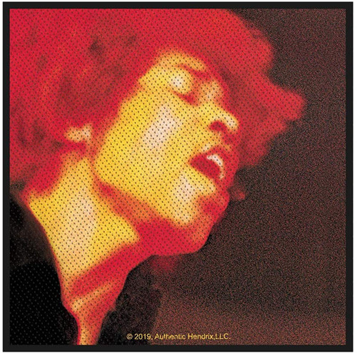 Jimi Hendrix - Electric Ladyland Woven Sew On Patch 10cm x 10cm