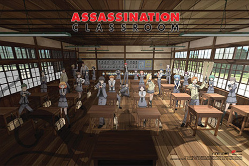 Assassination Classroom - The Classroom Poster 36x24 inches Image