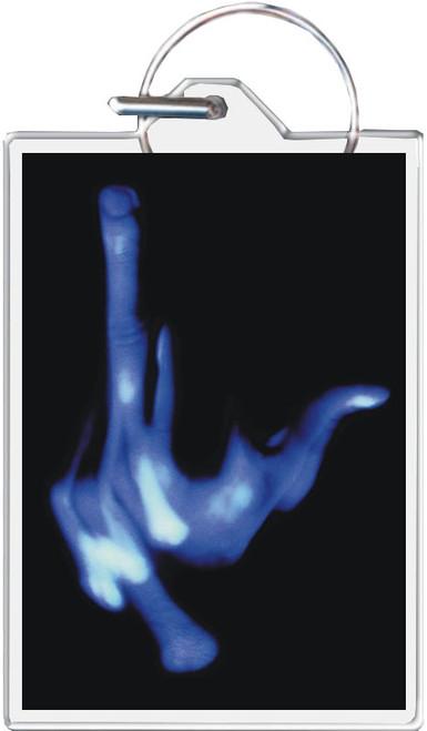 The Finger - David Wilhelm Keychain
