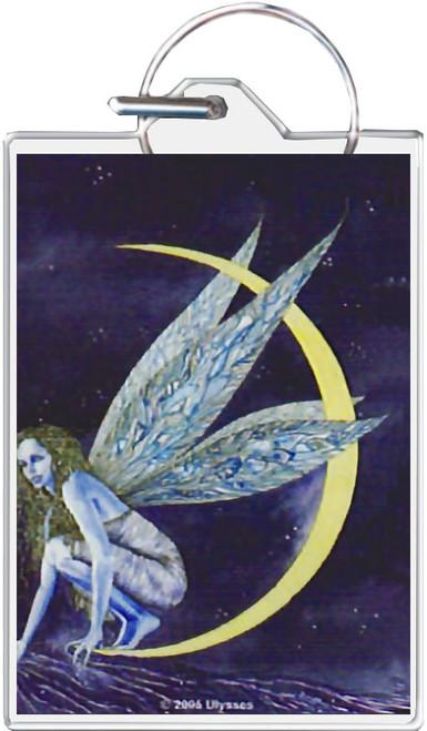 Kneeling Fairy Keychain
