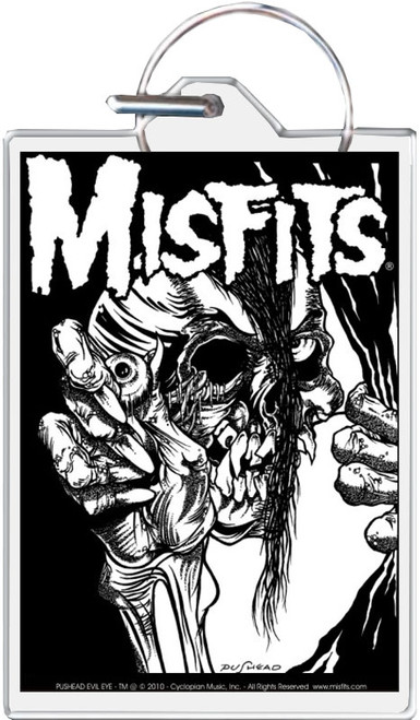 Misfits - Pushead Keychain