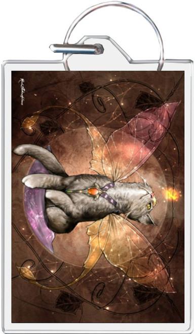 Goblins Faery Guide - Renee Biertempfel Keychain