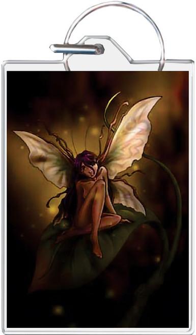 Shy Fairy Keychain