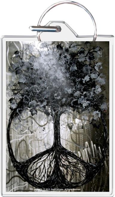 Tree Of Peace - David Wilhelm Keychain