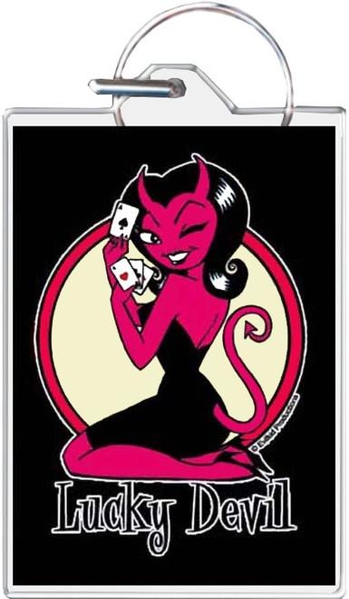 Lucky Devil Keychain