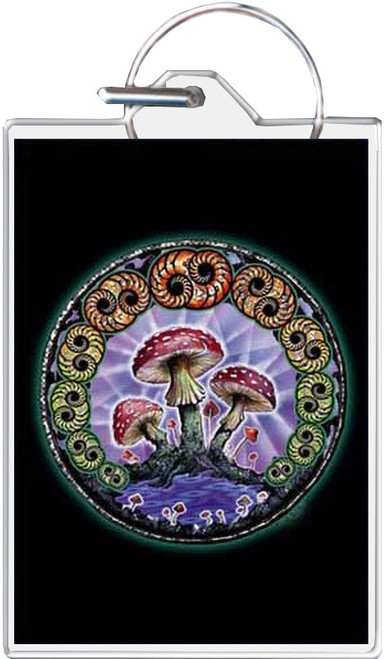Mushroom 2000 - Mike Dubois Keychain