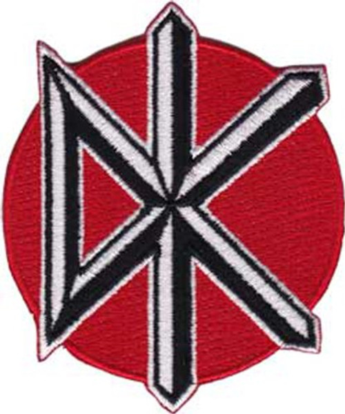 """Dead Kennedys Icon - Iron On Embroidered Patch 2.5"""" x 3"""" Image"""