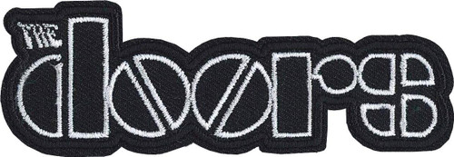 """The Doors Logo Embroidered Iron-On Patch 1.4"""" x 4"""""""