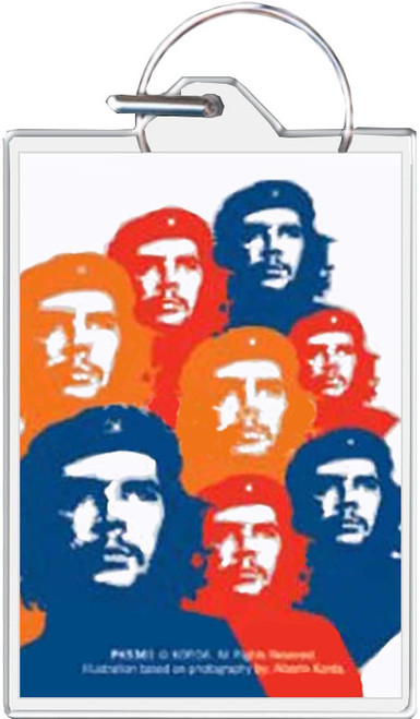 Che Guevara Hasta Keychain