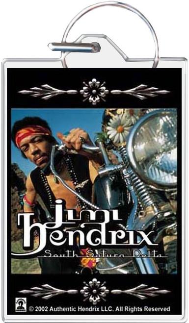Jimi Hendrix Delta Keychain