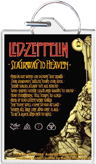 Led Zeppelin - Stairway To Heaven Keychain