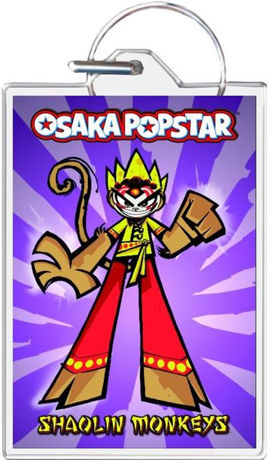 Osaka Popstar - Shaolin Monkeys Keychain