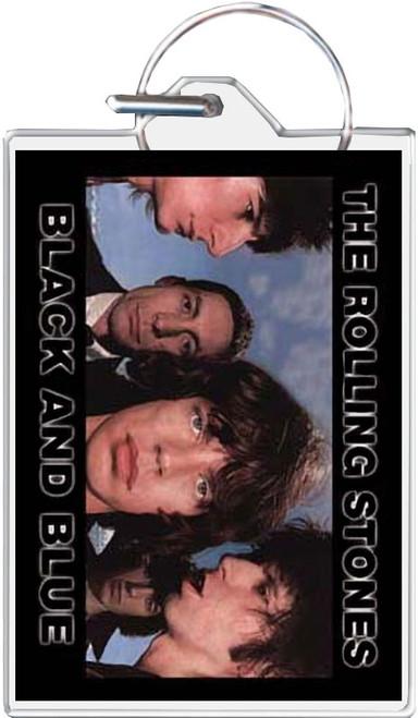 Rolling Stones Black & Blue Keychain