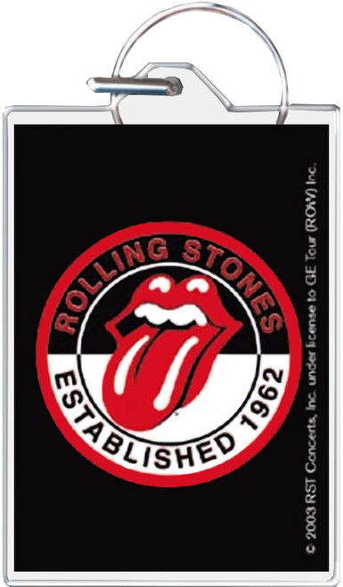 Rolling Stones Classic Tongue Keychain