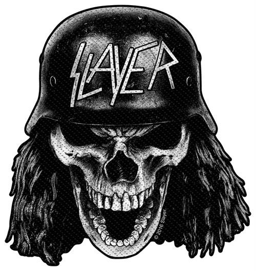 "Slayer- Woven Sew On Patch 3.75"" x 3.75"" Image"