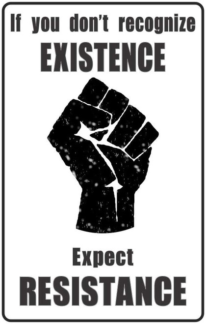 "Expect Resistance Mini Poster - 11"" x 17"""