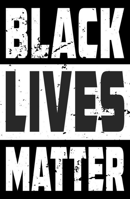 Black Lives Matter Compton Mini Poster 11x17 inches