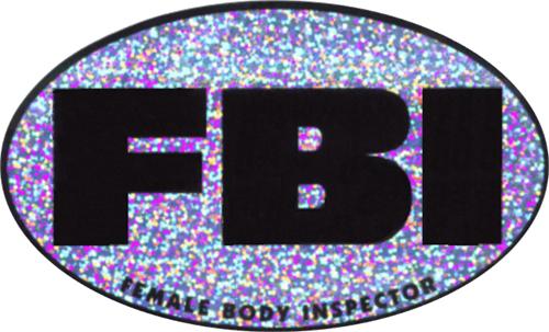 """FBI - 3"""" X 5"""" - Sticker"""