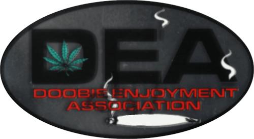 "DEA - 3 1/2"" X 2 1/2"" - Sticker"
