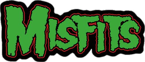 """Misfits Logo - Sticker - 5"""" x 2"""""""