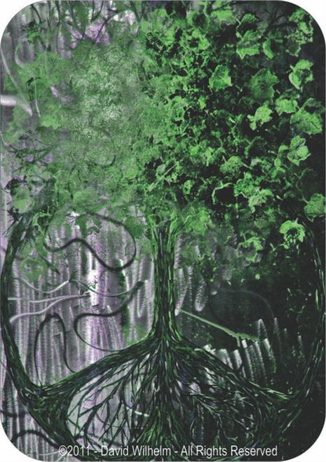 """Tree Of Peace By: David Wilhelm - Sticker - 3 1/2"""" x 2 3/4"""""""